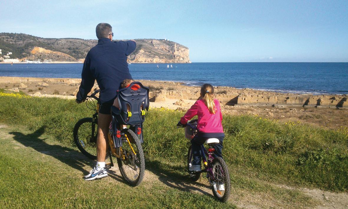 En bici por Xàbia