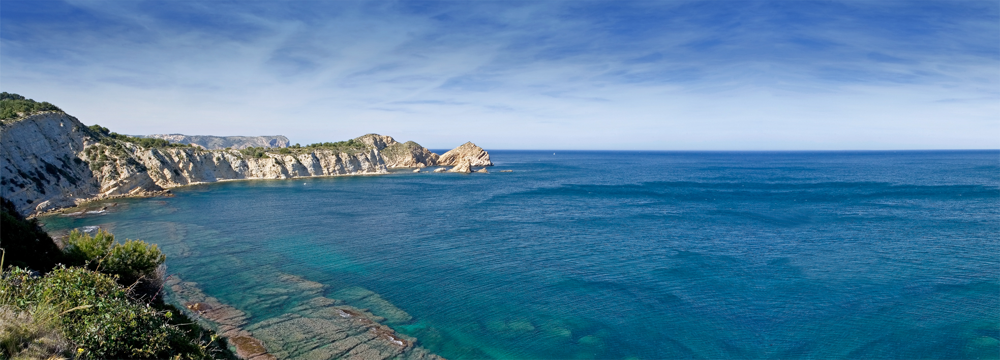 La zona del Cap Prim y el Portitxol