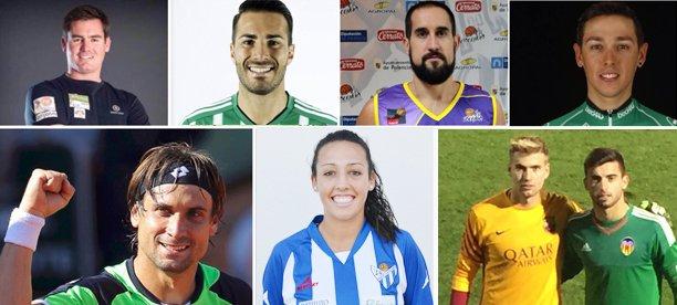 Los 8 jóvenes que han llevado a Xàbia a la élite del deporte