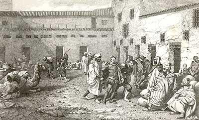 Cervantes en la cárcel