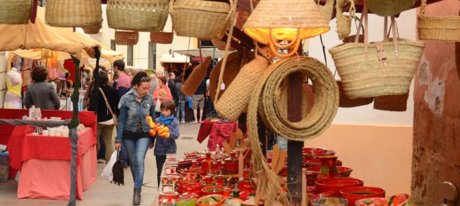 Los encantos de la Fira d'Artesania de Xàbia