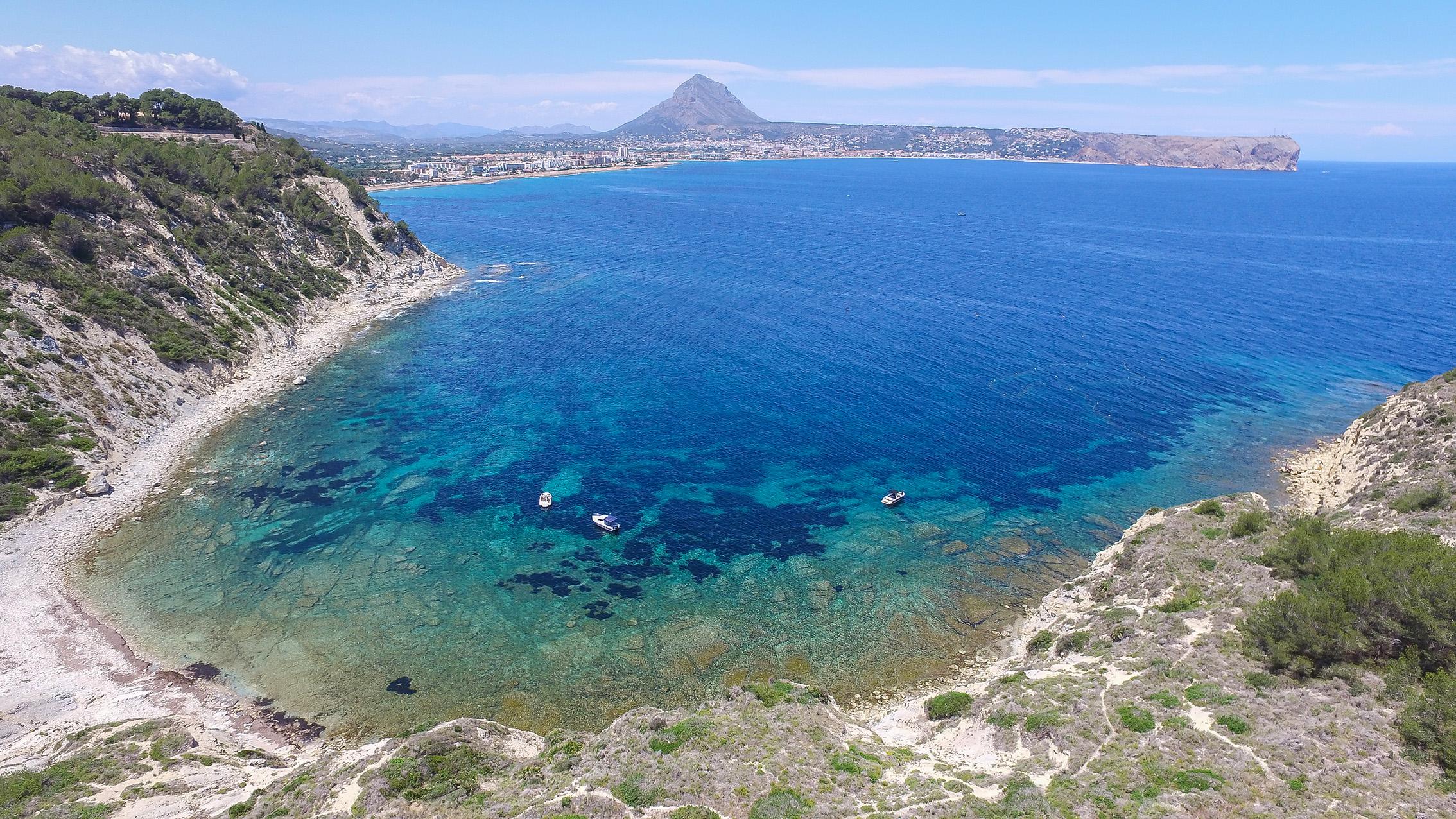 La Cala Sardinera de Xàbia