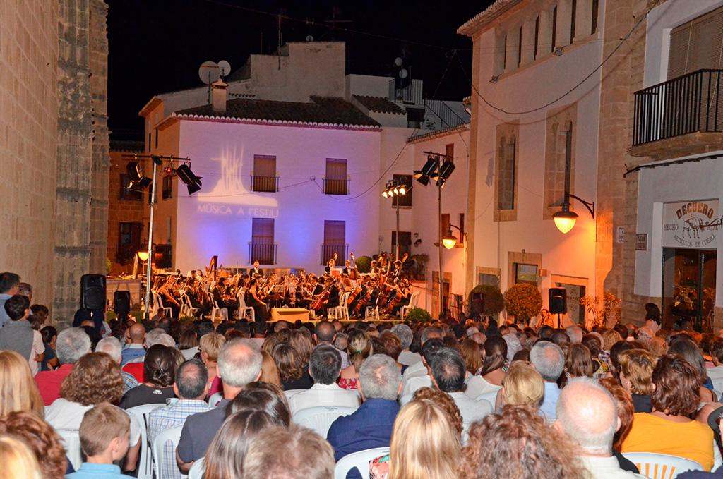 Música a l'estiu Xàbia