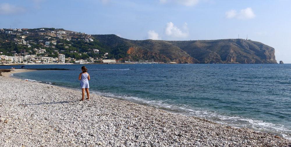 Playa del Benissero de Xàbia