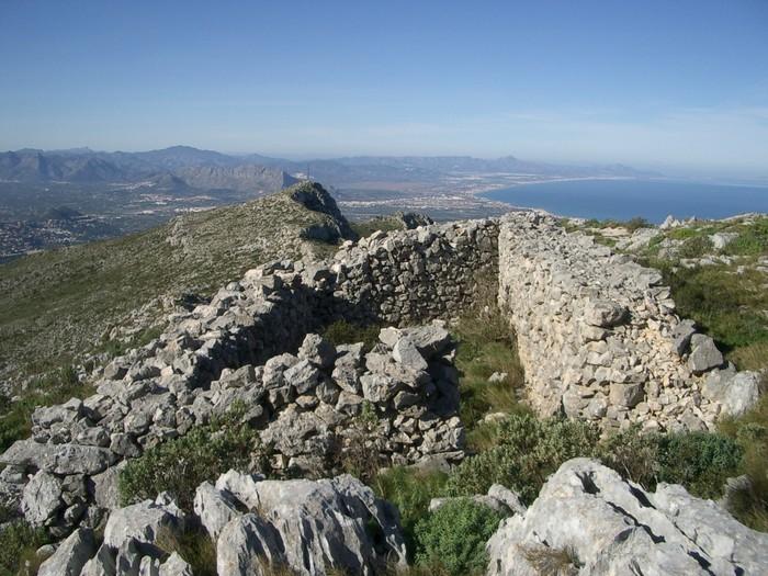 Cabaña en lo alto del Montgó